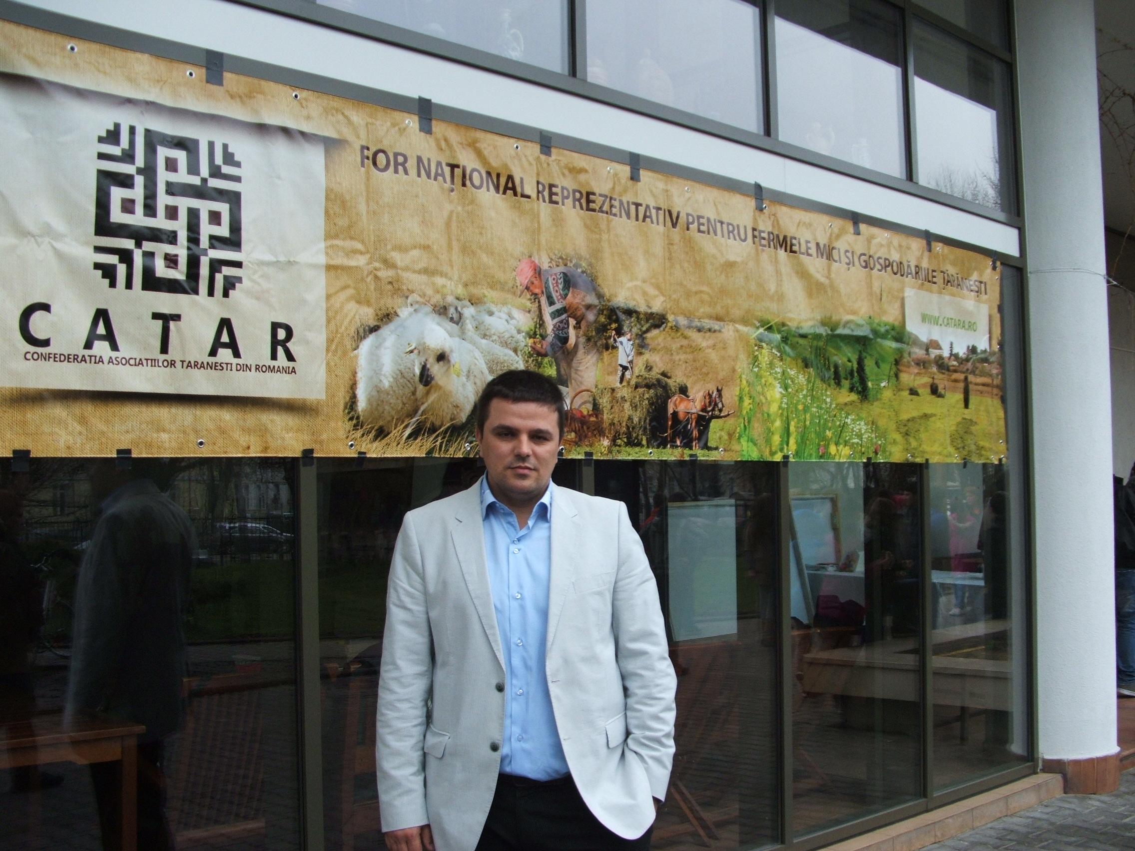 Florin Ciobanu, legumicultor Olt