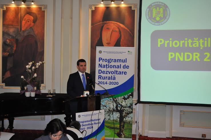 Prima varianta a noului PNDR a fost transmisa Comisiei Europene