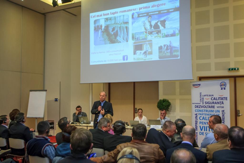 40 de fermieri, prezenti la conferinta Danone