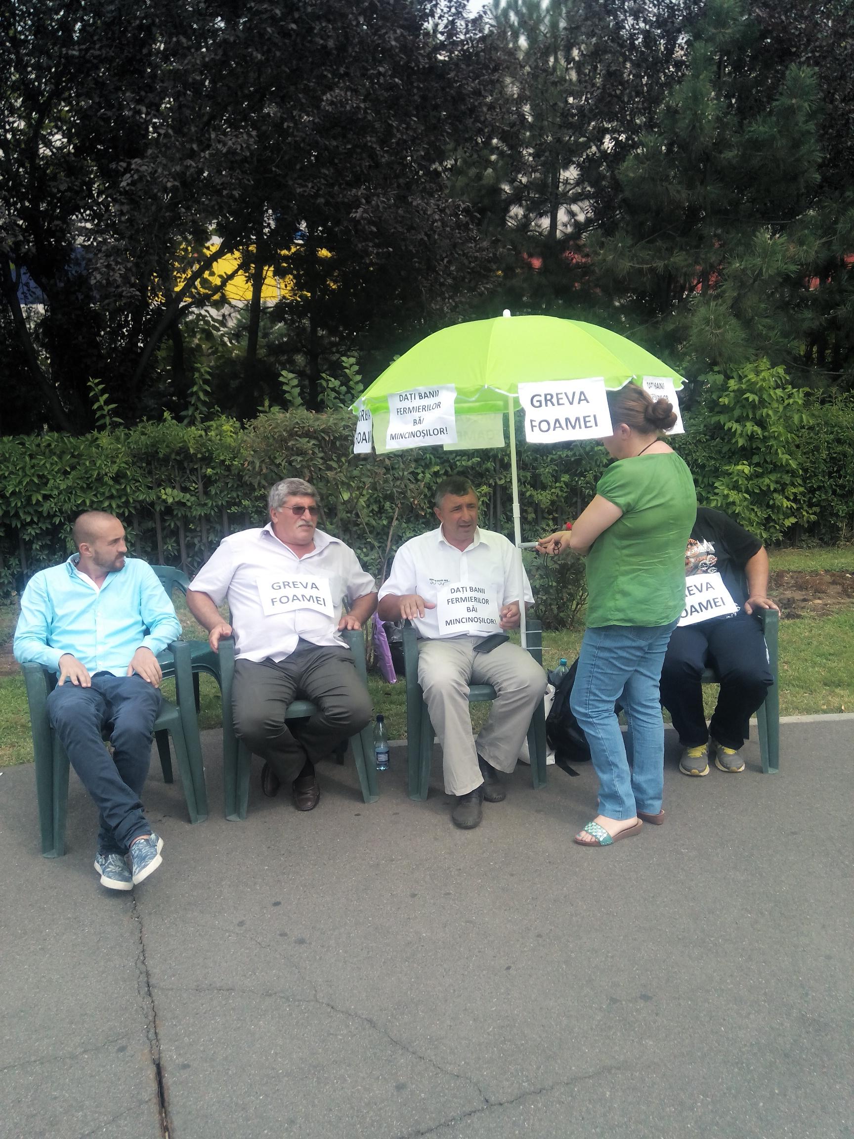 Costel Caras, in greva foamei la Guvern: Irimescu, du-te acasa, du-te la Bruxelles! Ciolos e in vacanta