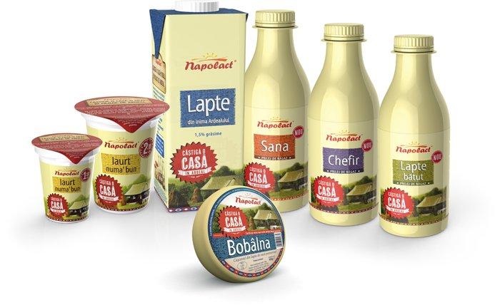 Napolact, cel mai puternic brand alimentar romanesc