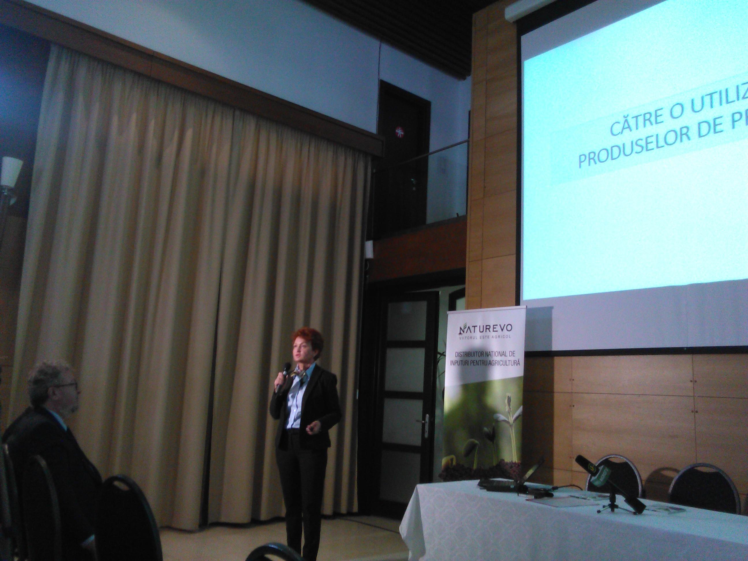 Elena Leaota: Pesticidele trebuie sa aiba efecte secundare minime asupra sanatatii umane si a mediului