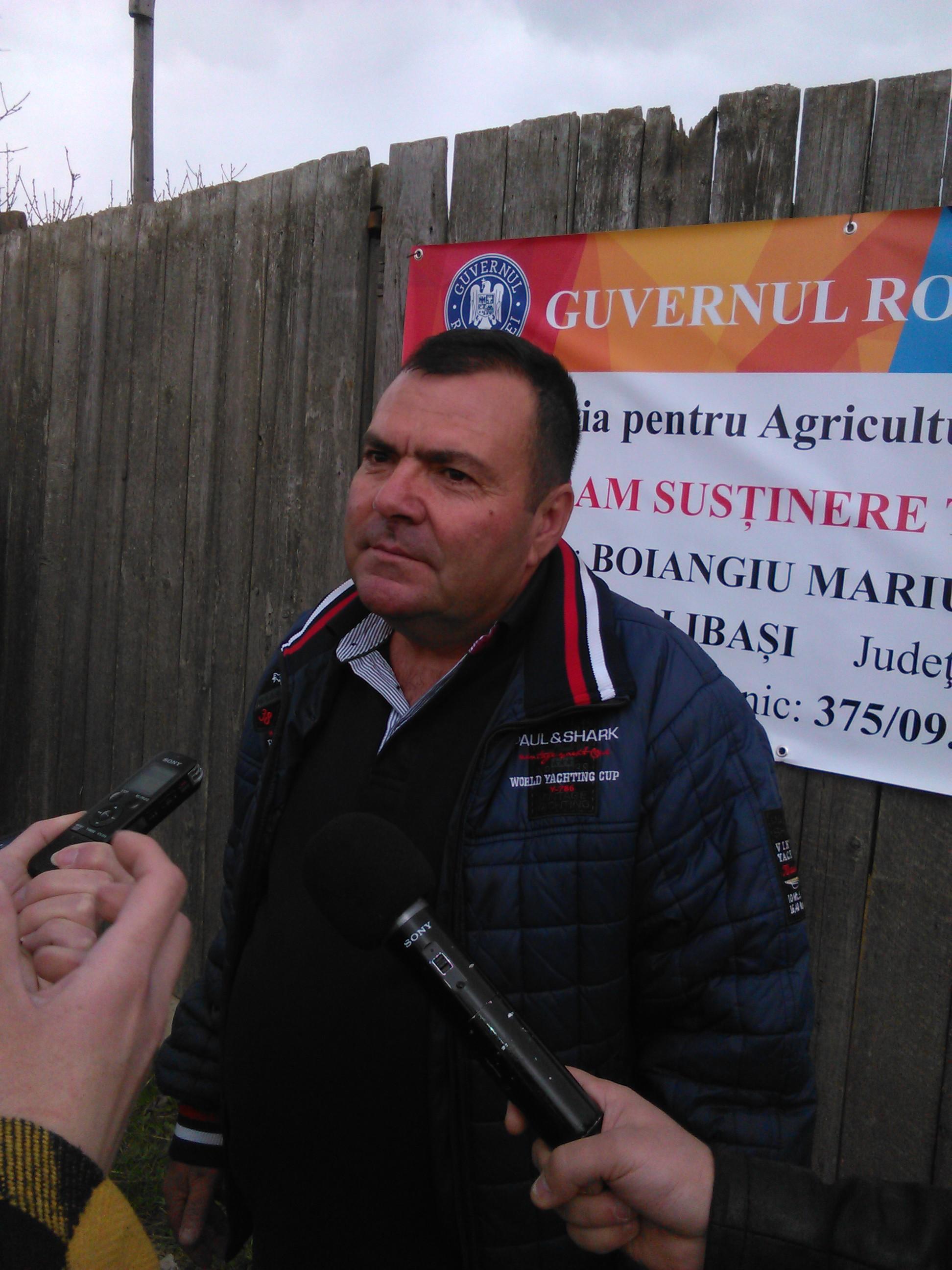 Gheorghe Boiangiu, legumicultor Colibasi: Noi daca ramanem cu 10% din ce cheltuim, este bine