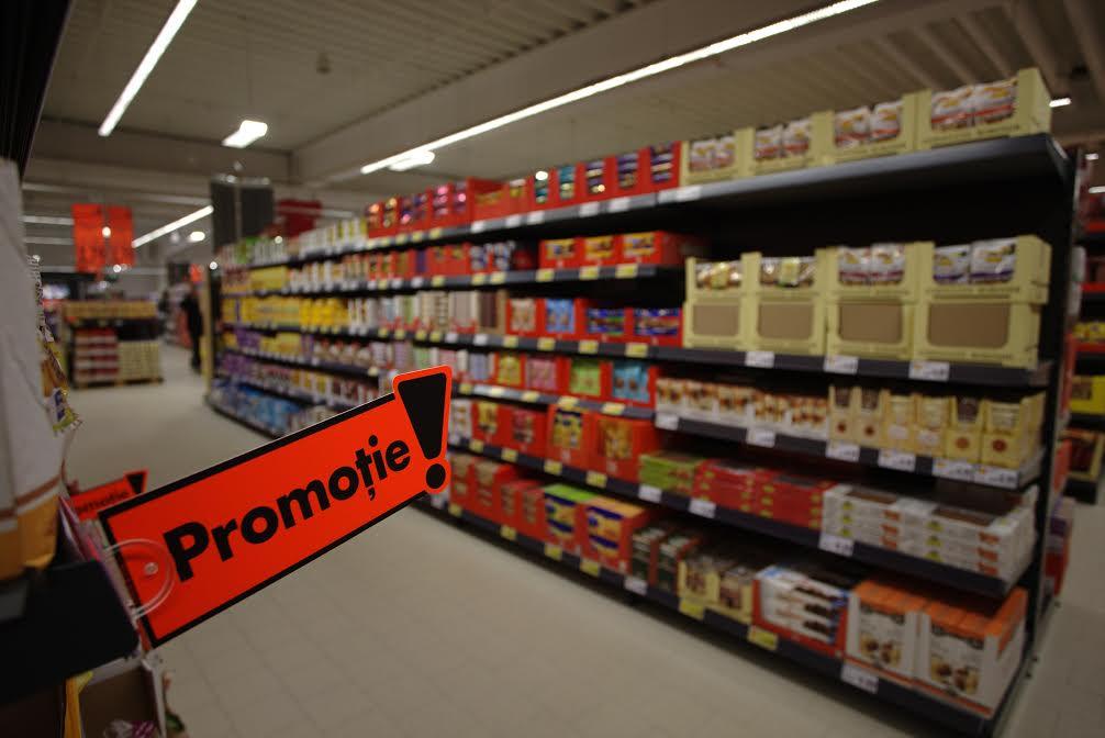 Etichete electronice la raionul de legume – fructe la hipermarketul Kaufland din Craiova