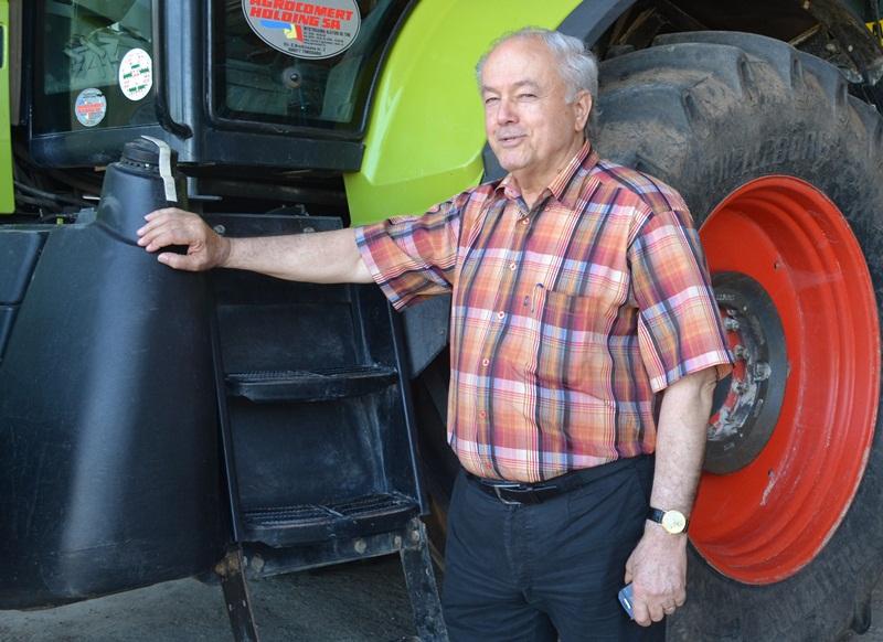 Doar 2 oameni lucreaza 250 ha la ferma Agroserv Confind