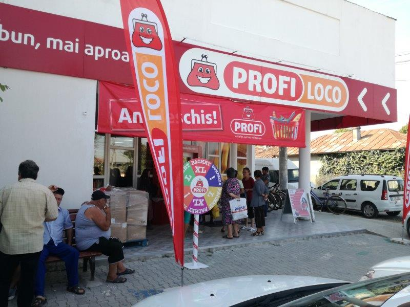 "Supermarket la tara. Profi ""ataca"" satele din Romania"