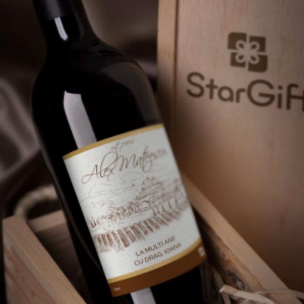 Vinuri personalizate Crama Budureasca, vandute online