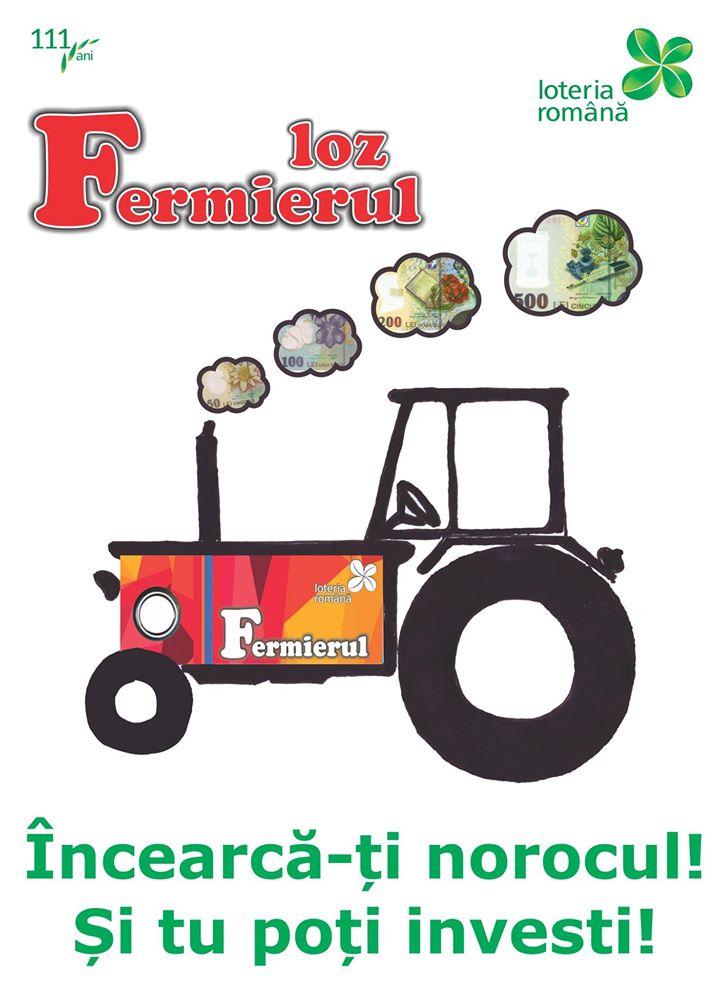 Parteneriat Loteria Romana – Ministerul Agriculturii. Lozul Fermierul va poate aduce 400.000 lei!