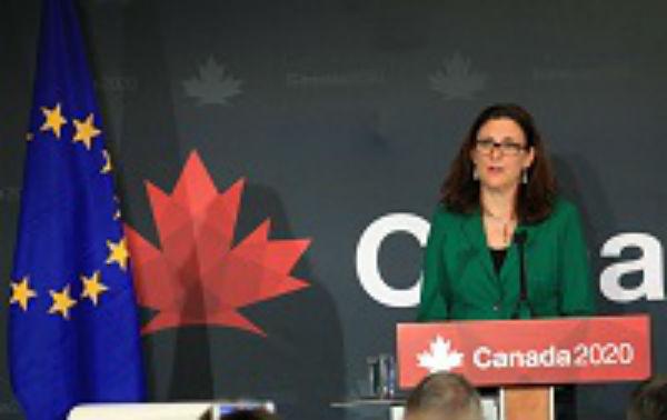 Acordul comercial UE-Canada a intrat in vigoare