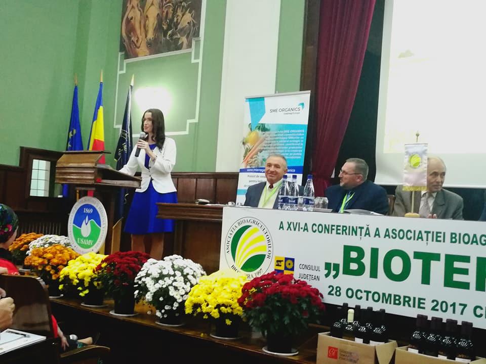 Peste 250 de participanti la Conferinta Nationala a Bioagricultorilor din Romania