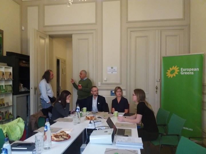 Agrostandard, prezenta la reuniunea Verzilor europeni (European Greens)  de la Bruxelles