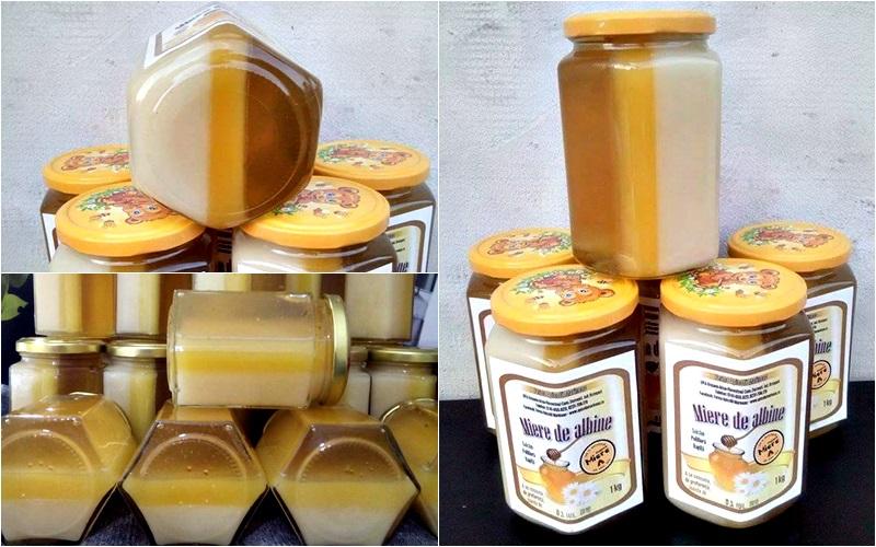 Mierea în trei culori face senzatie pe piata