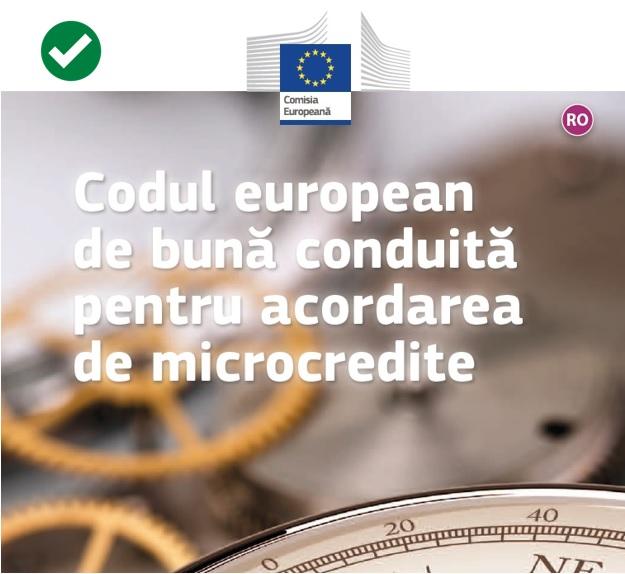 Premiera pentru Romania! good.bee Credit IFN S.A.,  certificat de CE pentru bune practici in microcreditare