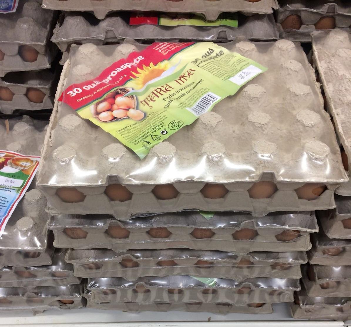 "Cooperativa agricola ""Tara mea"" livreaza 4 milioane de oua pe saptamana"