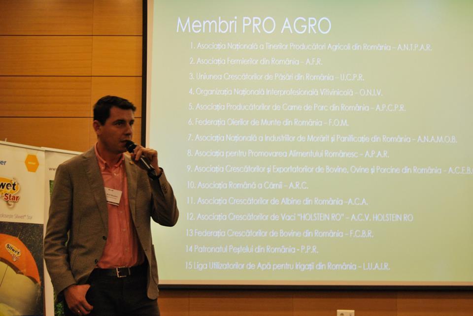 PRO AGRO vrea cotizatii profesionale agricole pentru finantarea asociatiilor