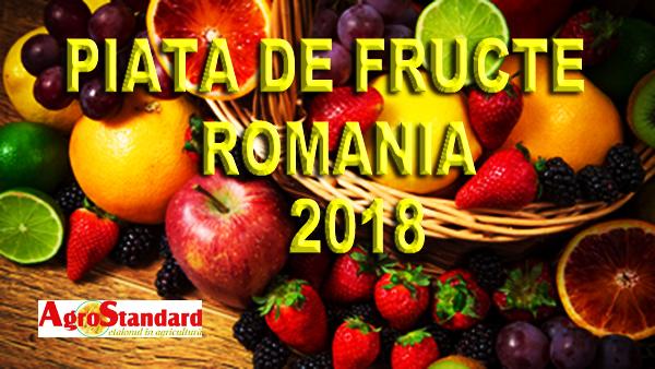 """EXCLUSIV AGROSTANDARD: Studiul """"Piata de fructe Romania"""""""