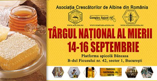 Circa 100 de participanti la Targul National al Mierii, ajuns la cea de-a nouasprezecea editie!