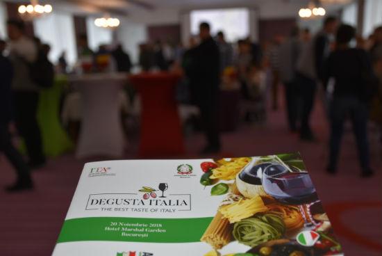 """Peste 80 de companii, prezente la """"Degusta Italia"""""""
