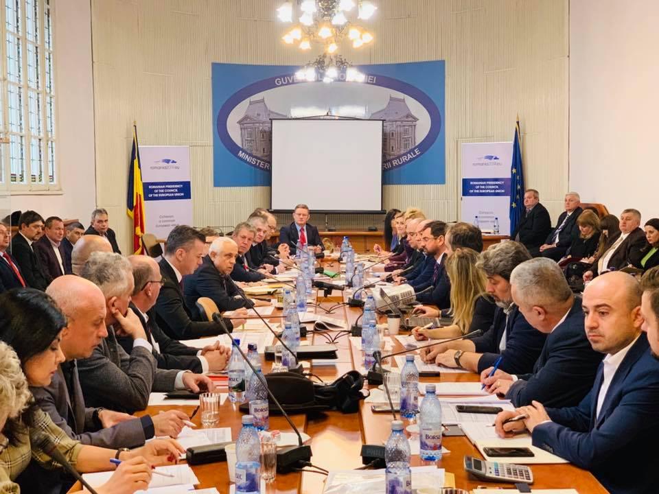 Ministrul Petre Daea fixeaza obiectivele AFIR pentru 2019!