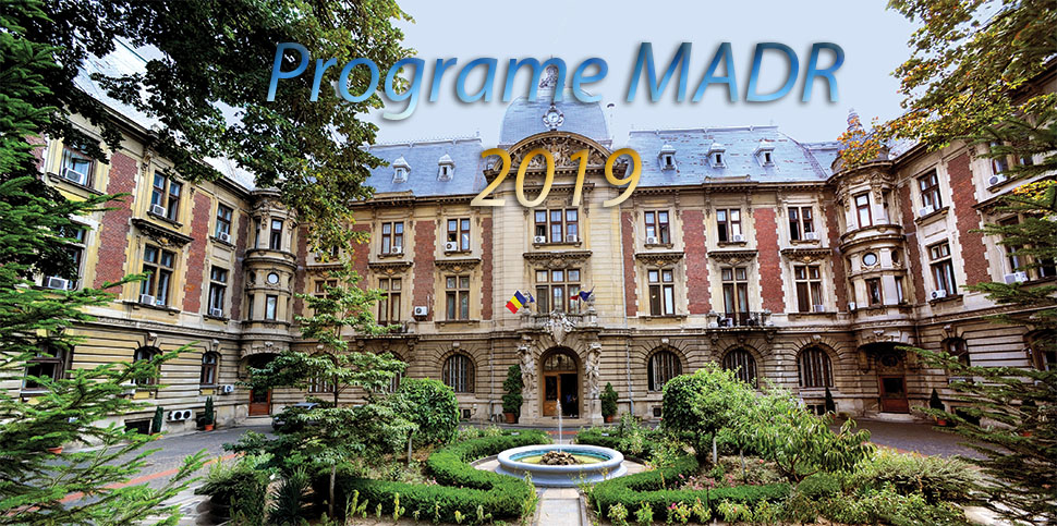 Lista programelor sustinute de MADR, in 2019