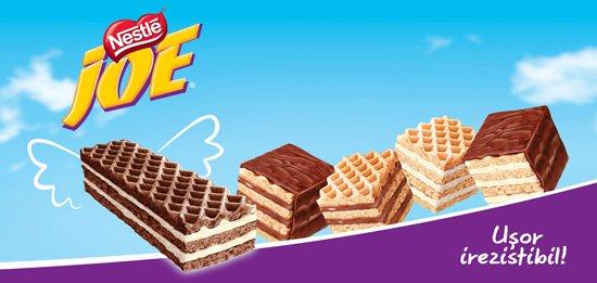 Napolitane Joe produse in Ungaria! Nestle inchide singura fabrica detinuta in Romania