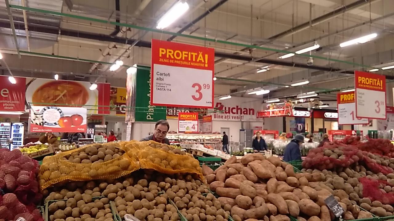 Topul scumpirilor, in ianuarie: Cartofii, legumele si fructele