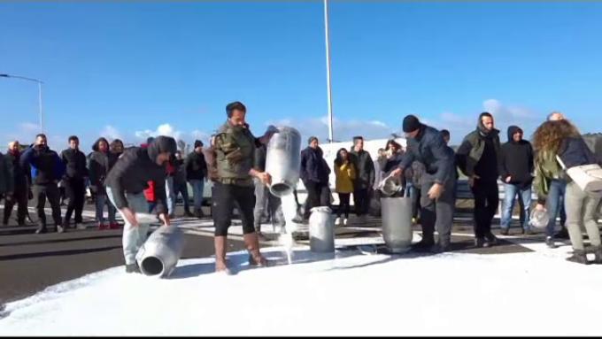 Au ajuns sarzii sa bea lapte romanesc! Fermierii italieni protesteaza, deranjati de importurile ieftine din Romania si Bulgaria