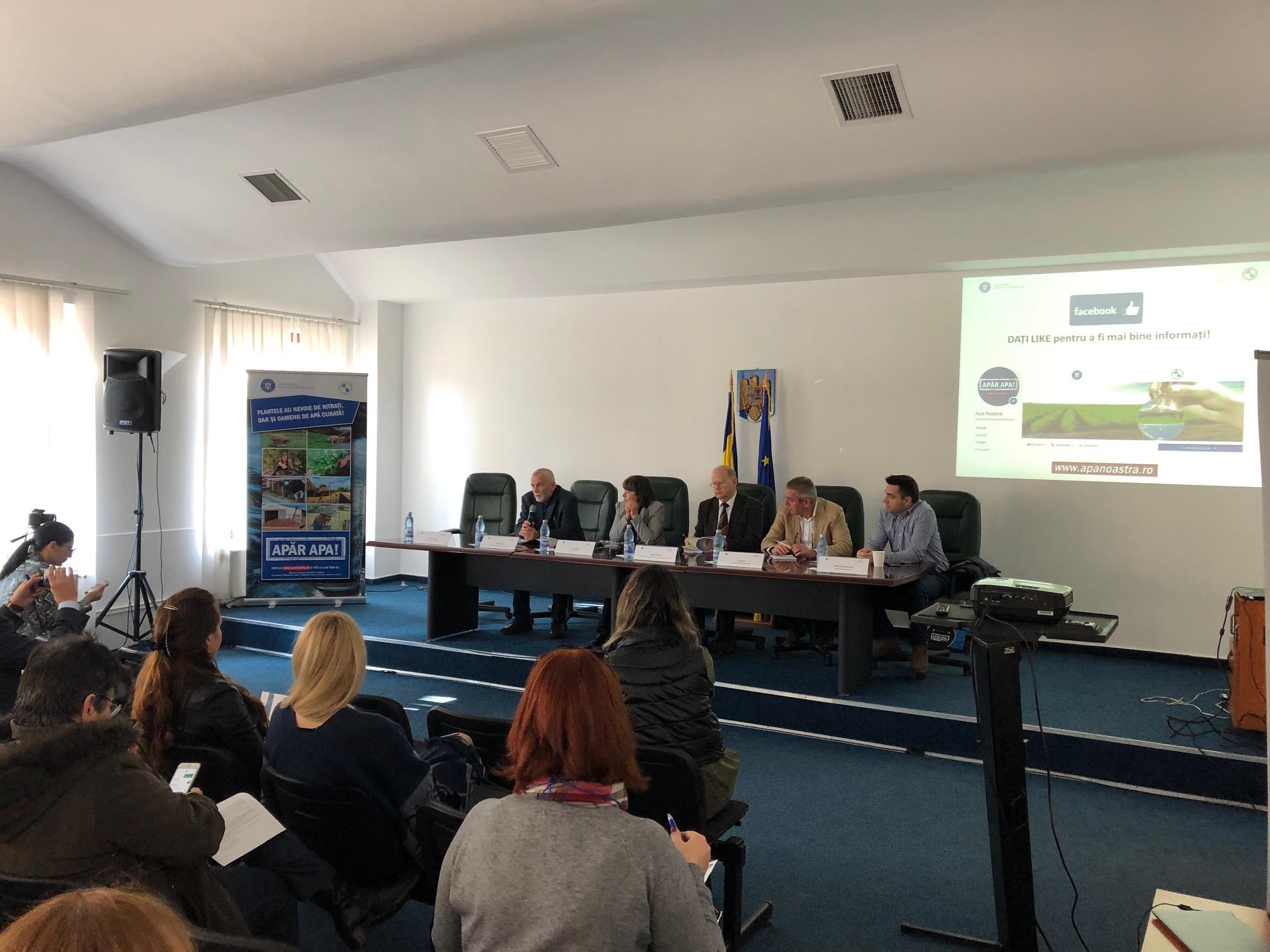 """Ministerul Apelor si Padurilor a dat startul seriei de reuniuni zonale """"Gunoiul de grajd – bunastare pentru fermieri!"""""""