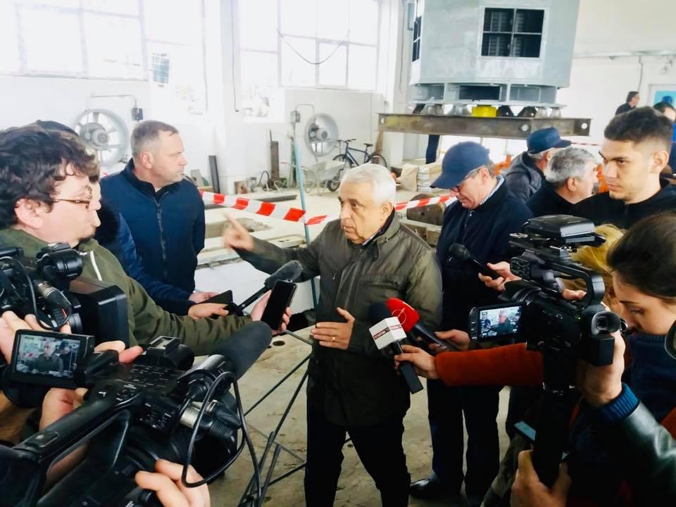 Reabilitarea infrastructurii principale de irigatii in Dolj. Ministrul Petre Daea a ajuns la amenajarea de irigatii Nadeia-Macesu
