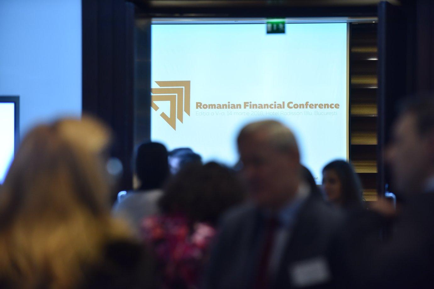 Expertii financiari discuta la cea de-a VI-a editie a Romanian Financial Conference