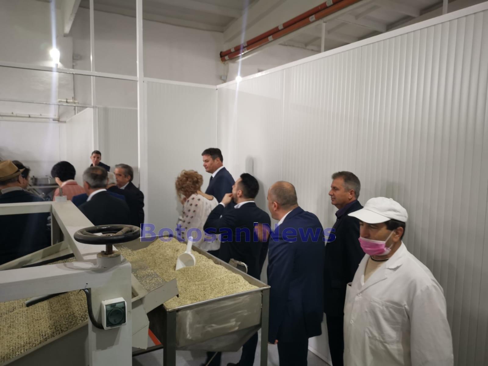 Daea promite subventii mai mari la canepa, dupa ce a vizitat fabrica de ulei din Dorohoi