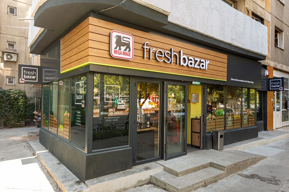 Fresh Bazar, un nou concept de magazin la Mega Image!