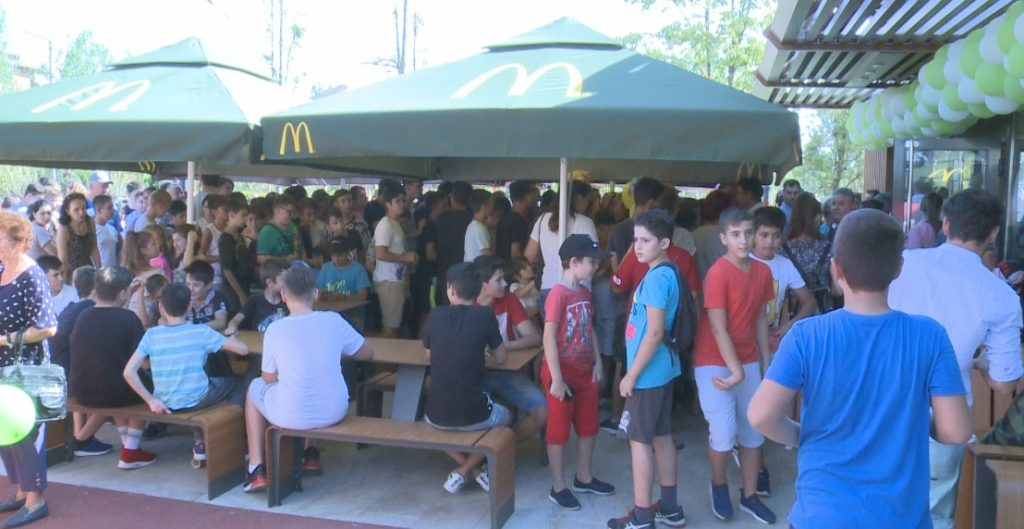 McDonald's a ajuns la Slatina! N-ati mai vazut asa ceva