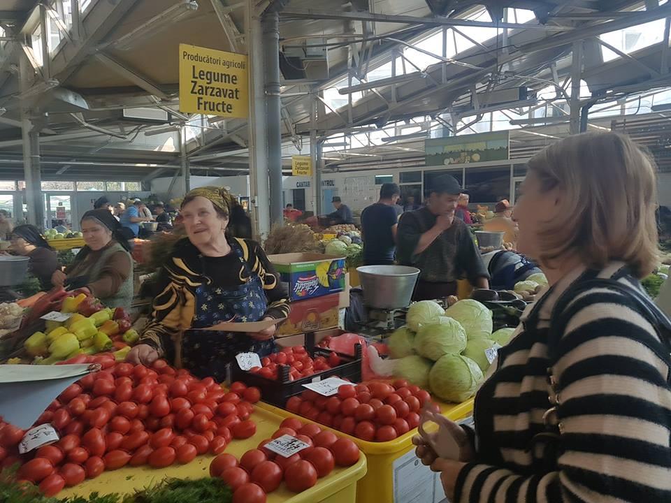 Amenzi de peste 118.000 lei pentru comerciantii de fructe si legume