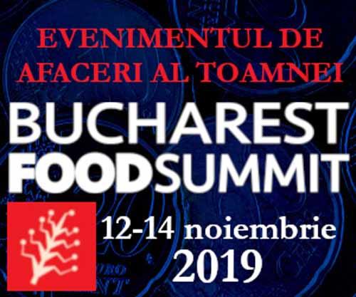 BucharestFoodSummit, cel mai important eveniment de business al acestei toamne!