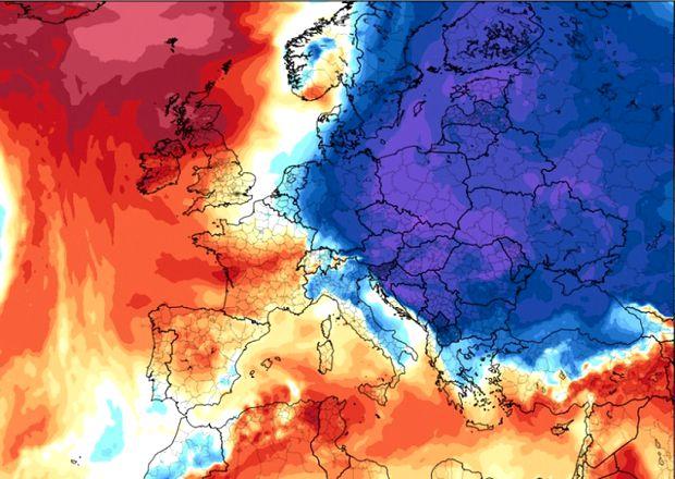 Val de aer polar, in Romania, saptamana viitoare!