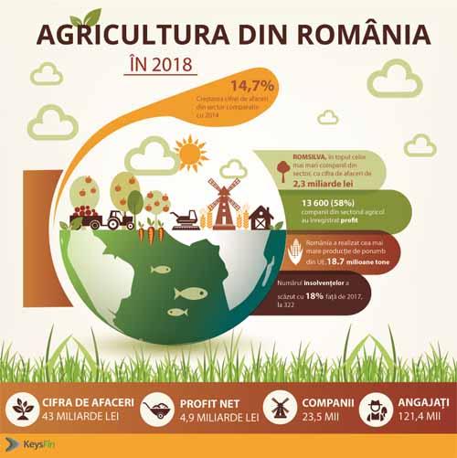 KeysFin:  Peste 50% din firmele din agricultura au profit! Top cei mai mari jucatori!