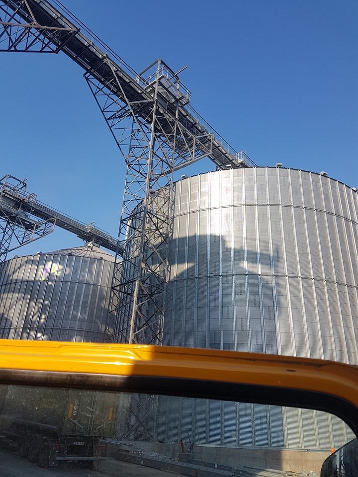 Investitie romaneasca de 50 mil. euro in cel mai mare siloz de cereale din portul Constanta