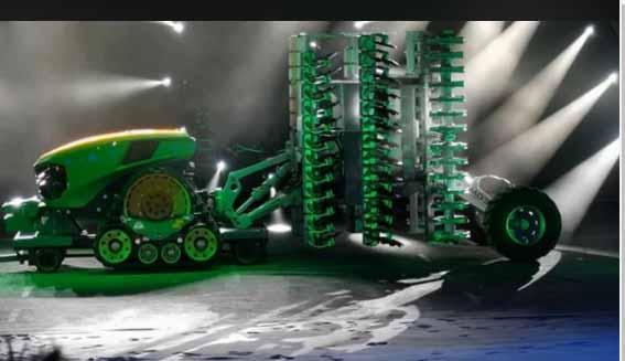 Cum arată Joker, tractorul autonom de la John Deere