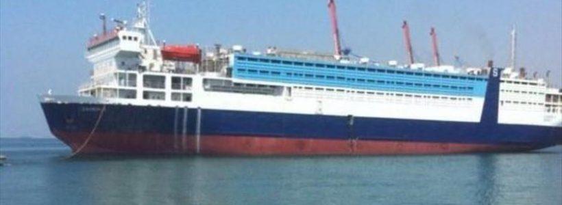 Transport de animale catre Arabia Saudita, oprit de ANSVSA, in portul Midia! Nereguli grave pe nava!