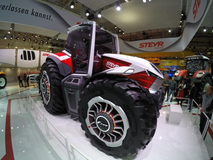 Steyr Konzept, tractorul hibrid cu care austriecii vor sa dea lovitura