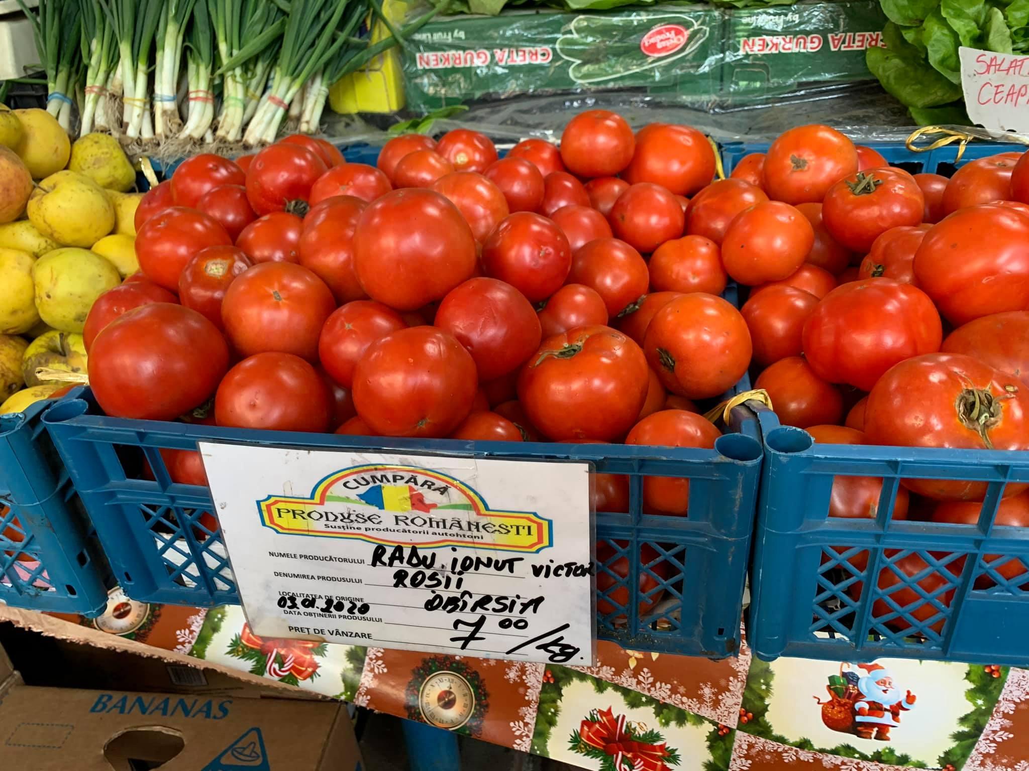 Secretul rosiilor de la Obarsia (Olt)! Fie vara, fie iarna, la piata!