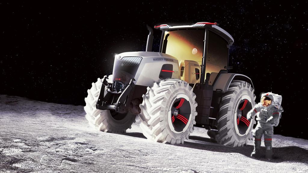 Cum arata tractorul viitorului MF Next de la Massey Ferguson! (Video)