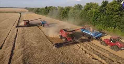 Agricultura in Ucraina. 10 holdinguri lucreaza peste 100.000 ha fiecare! (video)