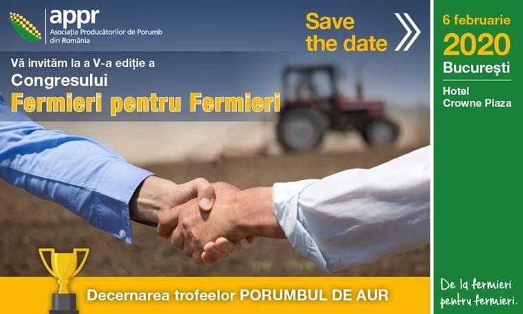 """""""Porumbul de aur 2019"""" va ajunge la fermieri din judetele Giurgiu si Iasi!"""
