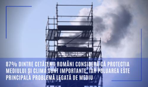 Eurobarometru: Poluarea, principala problema legata de mediu