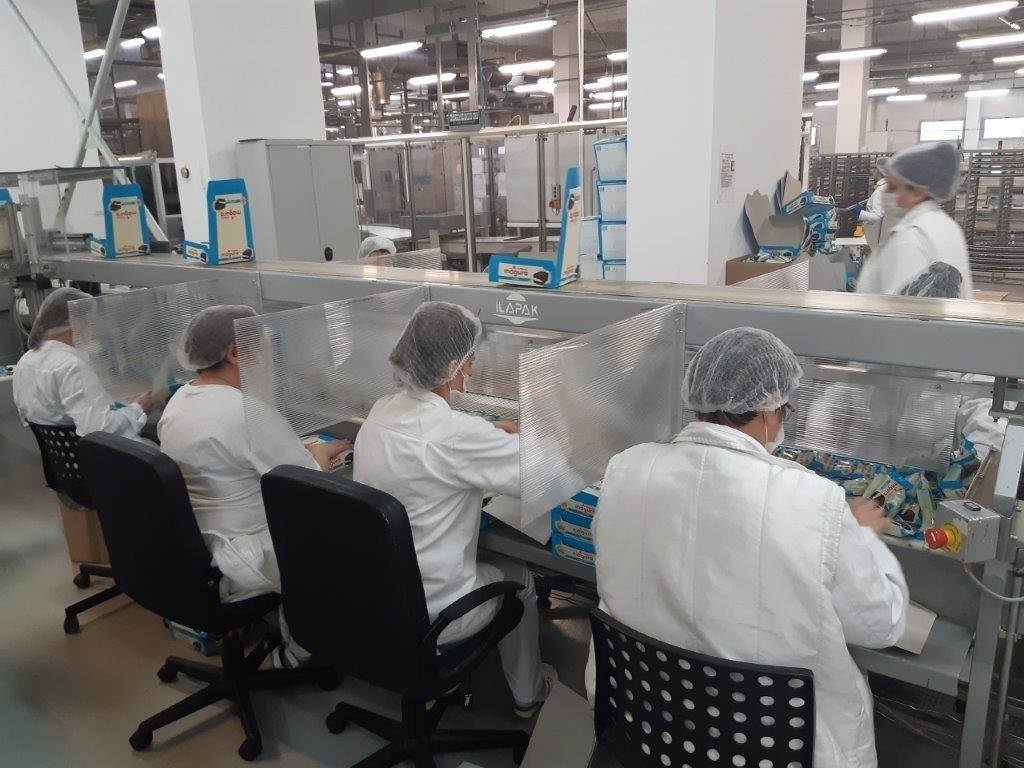 Fabrica de ciocolata Kandia din Capitala, inchisa temporar!