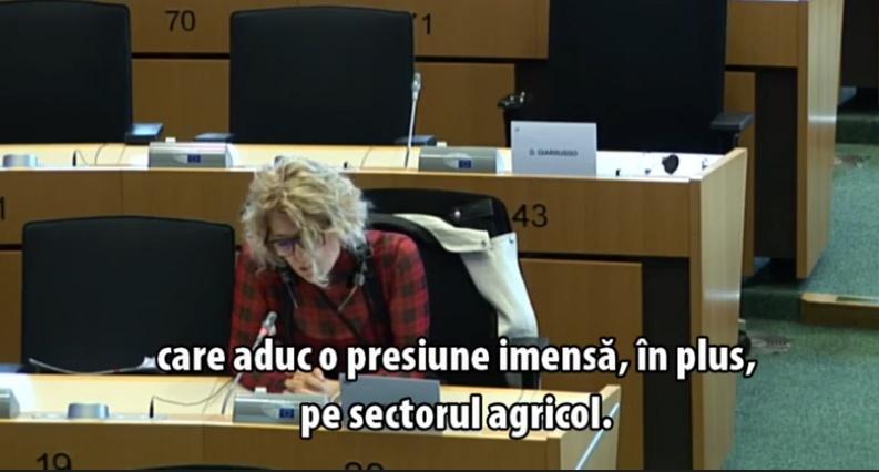 Eurodeputat: Pactul Ecologic si strategia «De la ferma la furculita» aduc o presiune imensa, in plus
