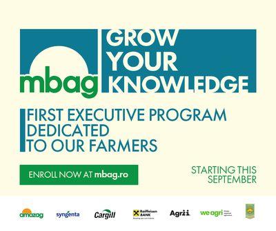 Primul program de tip Executive MBA destinat fermierilor romani