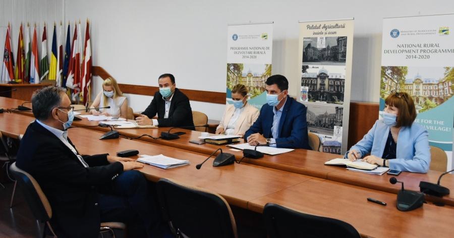 Grup de lucru la MADR format din asiguratori, fermieri, UNSAR si experti din minister